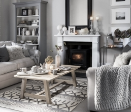 10 Brilliant ideas for cozy interiors during winters