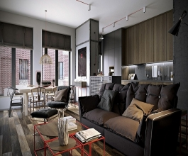 Design of a Bachelor Pad in Interior Designing